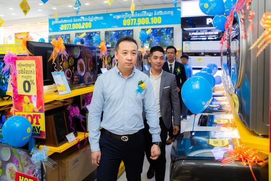 'Xuất ngoại' thần tốc như Điện máy Xanh, số lượng shop gấp 3 lần đối thủ lớn nhất ở Campuchia - Ảnh 3.