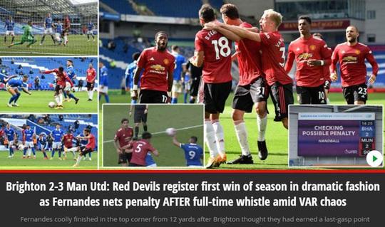 Hưởng phạt đền khi trận đấu đã kết thúc, Man United ngược dòng điên rồ trước Brighton - Ảnh 9.