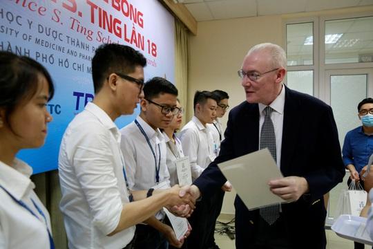 Quỹ Lawrence S. Ting: Hơn 8,5 tỉ đồng dành cho HS-SV vượt khó, học giỏi - Ảnh 3.