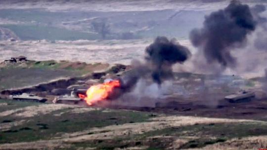 Các tay súng Syria tham gia chiến sự Azerbaija - Armenia? - Ảnh 1.