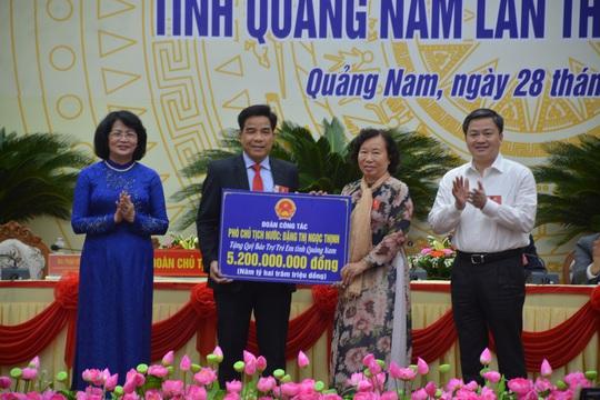Phó chủ tịch nước dự Đại hội Thi đua yêu nước tỉnh Quảng Nam- Đà Nẵng - Ảnh 3.