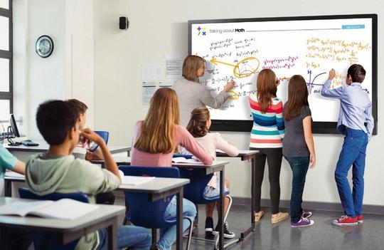 Nâng cao chất lượng giảng dạy cùng bảng tương tác Samsung Flip 2 - Ảnh 2.