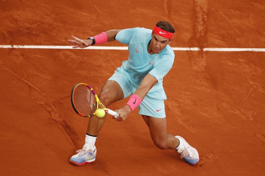 Clip Vua Rafael Nadal, Hoàng tử Dominic Thiem thắng dễ trận ra quân Roland Garros - Ảnh 6.
