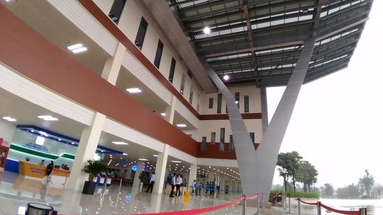 Mục sở thị Bệnh viện Ung Bướu TP HCM cơ sở 2 sắp hoạt động - Ảnh 1.