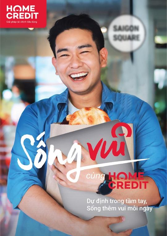 """Home Credit lan tỏa thông điệp """"Sống vui"""" đến hàng triệu khách hàng - Ảnh 2."""