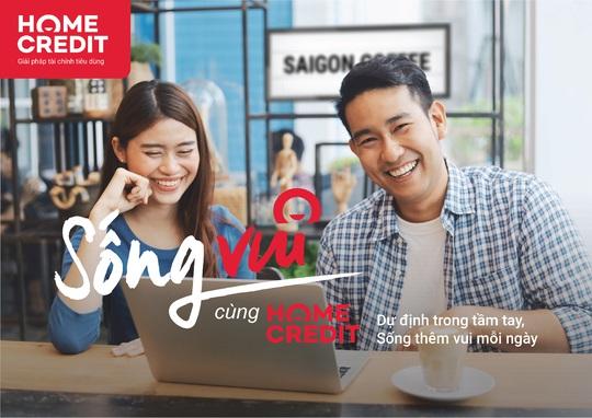 """Home Credit lan tỏa thông điệp """"Sống vui"""" đến hàng triệu khách hàng - Ảnh 1."""