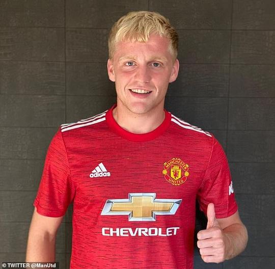 Van de Beek ký hợp đồng chính thức, fan Man United vỡ òa hạnh phúc - Ảnh 2.