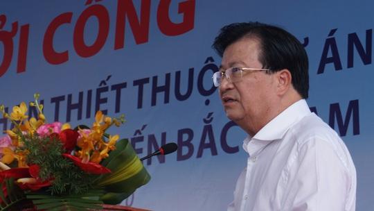 Khởi công Dự án thành phần đầu tư xây dựng đường bộ cao tốc đoạn Vĩnh Hảo – Phan Thiết - Ảnh 1.
