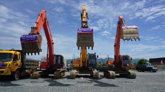 Khởi công Dự án thành phần đầu tư xây dựng đường bộ cao tốc đoạn Vĩnh Hảo – Phan Thiết - Ảnh 3.