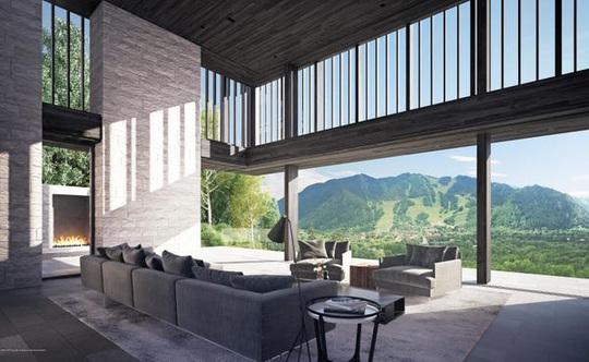 Ngôi nhà trên đỉnh núi giá 32 triệu USD - Ảnh 4.
