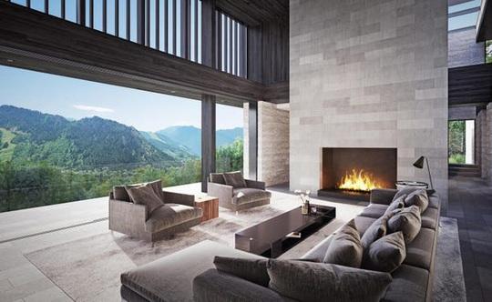 Ngôi nhà trên đỉnh núi giá 32 triệu USD - Ảnh 5.