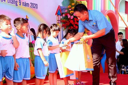 Bình Dương: Khánh thành trường học cho con công nhân - Ảnh 1.