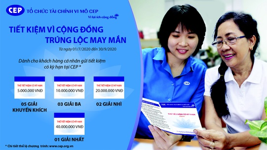 Gửi tiết kiệm trúng thẻ tiết kiệm có kỳ hạn tại CEP - Ảnh 1.
