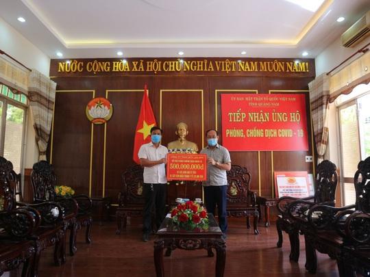 Doanh nhân Nguyễn Nam Phương: Kinh doanh bị ảnh hưởng vì Covid-19 vẫn làm từ thiện nhiều tỷ đồng - Ảnh 2.