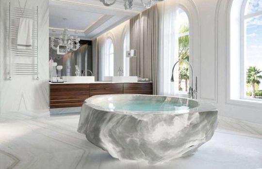 Những phòng tắm xa xỉ bậc nhất thế giới - Ảnh 2.
