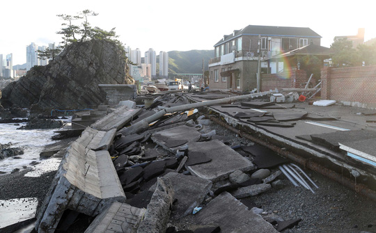 Thời tiết bất thường ở Mỹ, bán đảo Triều Tiên - Ảnh 1.