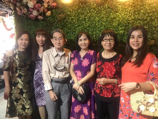 Mai Vàng nhân ái thăm NSND Thái Mạnh Hiển và GS-NGƯT Nguyễn Văn Đời - Ảnh 7.