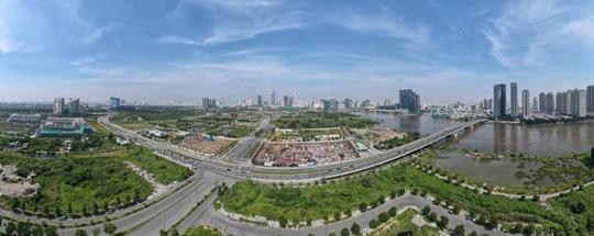 """Thị trường bất động sản """"chững lại"""" bởi Covid-19, các dự án tại Thủ Thiêm vẫn phát triển """"thần tốc"""" - Ảnh 3."""