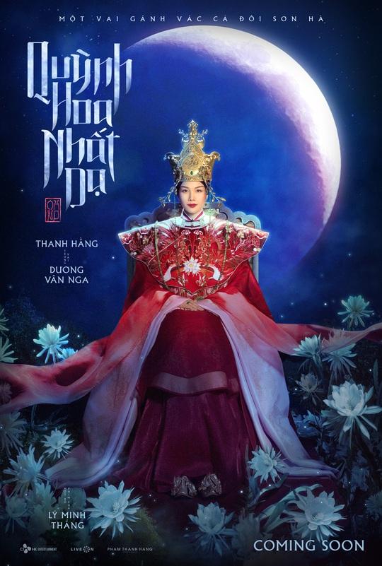 Thanh Hằng tái xuất, vào vai Thái hậu Dương Vân Nga - Ảnh 1.