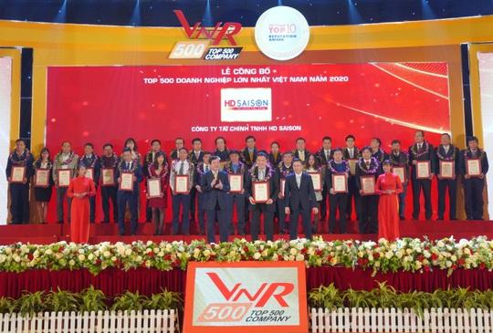 6 năm liên tiếp, VNR500 vinh danh duy nhất một công ty tài chính tiêu dùng - Ảnh 1.