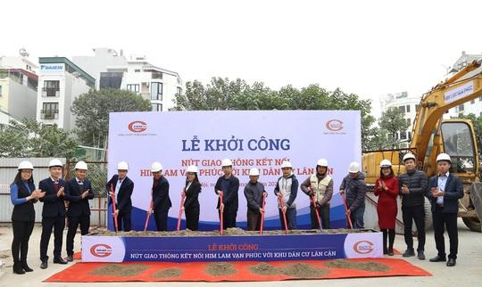 Khởi công nút giao thông kết nối giữa Him Lam Vạn Phúc với khu dân cư lân cận - Ảnh 1.