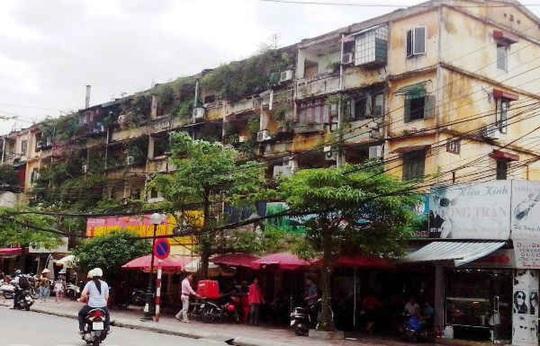 Hà Nội sẽ gỡ được bế tắc trong cải tạo chung cư cũ? - Ảnh 1.