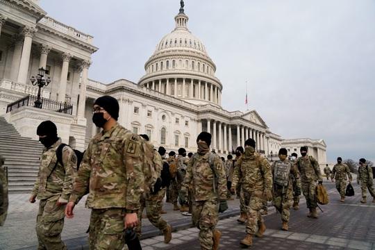 Mỹ: Căng mình trước lễ nhậm chức tổng thống - Ảnh 1.