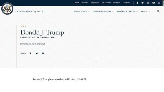 Ông Trump bí mật gặp thuộc cấp Mike Pence bàn chuyện phế truất - Ảnh 2.