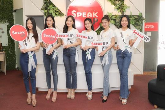 Trung tâm Anh ngữ Speak UP áp dụng mô hình học tích hợp cho TS Miss Tourism Vietnam 2020 - Ảnh 1.
