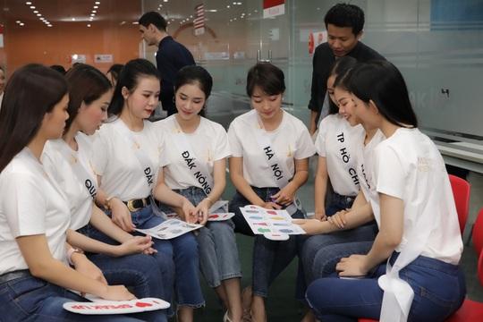 Trung tâm Anh ngữ Speak UP áp dụng mô hình học tích hợp cho TS Miss Tourism Vietnam 2020 - Ảnh 2.