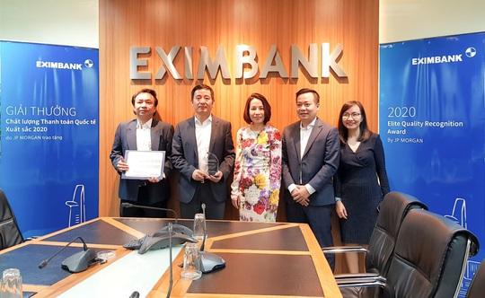 JP Morgan trao giải thưởng thanh toán xuất sắc cho Eximbank - Ảnh 1.
