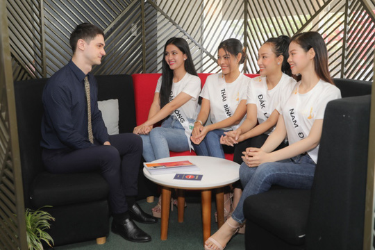 Trung tâm Anh ngữ Speak UP áp dụng mô hình học tích hợp cho TS Miss Tourism Vietnam 2020 - Ảnh 3.