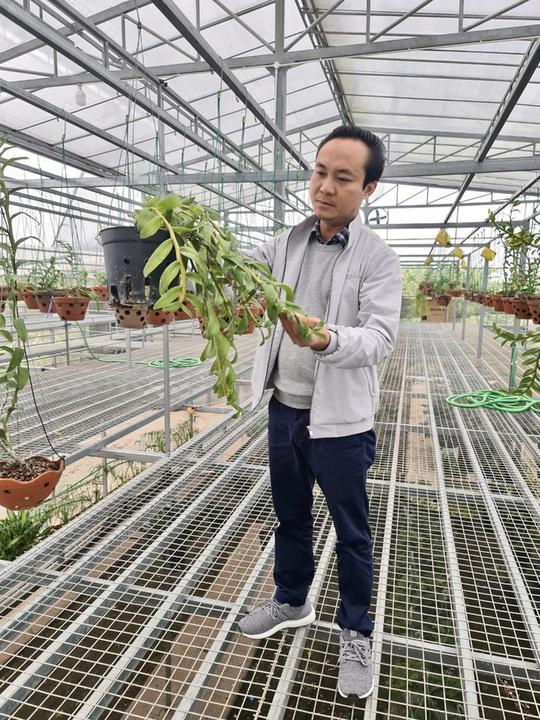 Nghệ nhân Minh Xa chia sẻ bí quyết chăm sóc hoa lan - Ảnh 2.