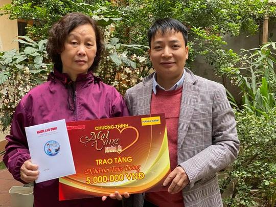 Mai vàng nhân ái thăm nhà thơ Trúc Thông và nhạc sĩ Trọng Bằng - Ảnh 1.