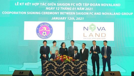 Novaland tài trợ cho Câu lạc bộ Sài Gòn FC - Ảnh 1.