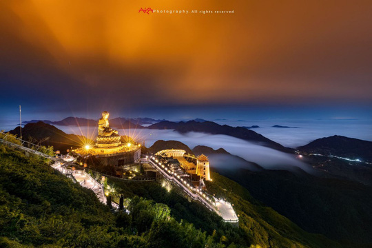 Bức ảnh đại tượng Phật trên đỉnh Fansipan đạt giải thưởng nhiếp ảnh thế giới - Ảnh 3.
