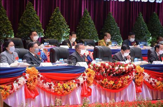 Tổng Bí thư, Chủ tịch nước Nguyễn Phú Trọng chúc mừng tân Tổng Bí thư Lào - Ảnh 3.