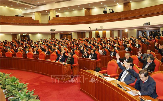Chùm ảnh: Khai mạc Hội nghị Trung ương 15 có ý nghĩa cực kỳ quan trọng - Ảnh 9.