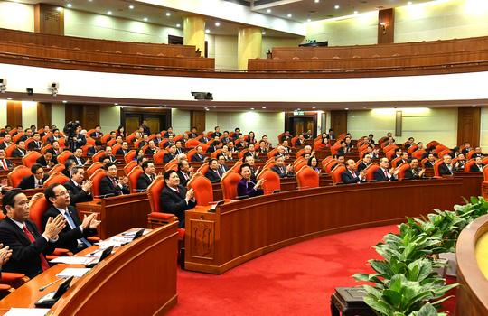 Chùm ảnh: Bế mạc Hội nghị Trung ương 15 - Ảnh 3.