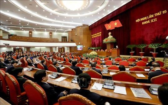 Chùm ảnh: Bế mạc Hội nghị Trung ương 15 - Ảnh 11.