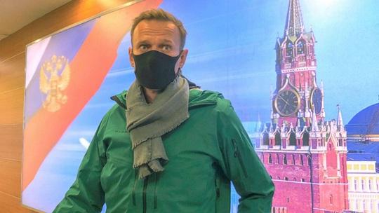 Chính khách đối lập Alexey Navalny bị bắt khi vừa về Nga - Ảnh 3.