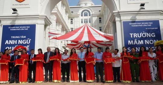Thành lập trường mầm non song ngữ lớn nhất TP Cần Thơ - Ảnh 1.