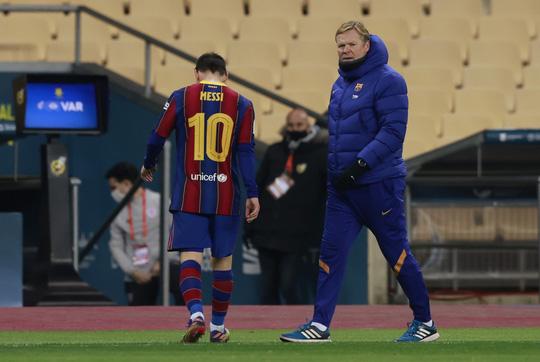 Messi bị đuổi, Barcelona đại bại ở Siêu cúp Tây Ban Nha - Ảnh 2.