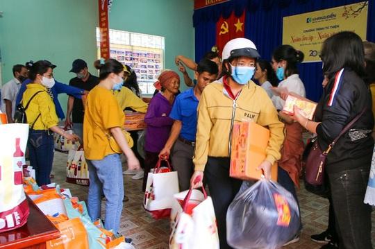 Khang Điền mang xuân yêu thương đến người dân xã An Khương, Bình Phước - Ảnh 1.