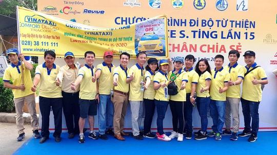 Vinataxi đồng hành cùng chương trình Đi bộ Từ thiện Lawrence S. Ting lần thứ 16-2021 - Ảnh 1.