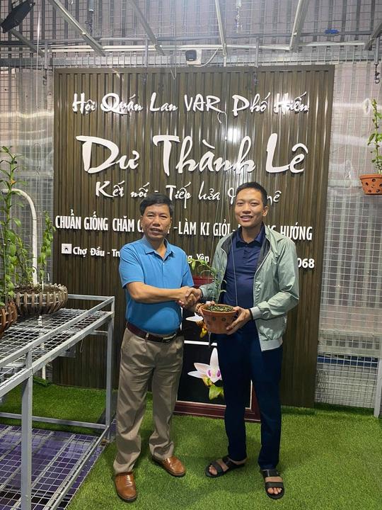 Chuyển hướng sang lan đột biến, Lê Thành Dư thành ông chủ vườn lan tiền tỉ - Ảnh 3.