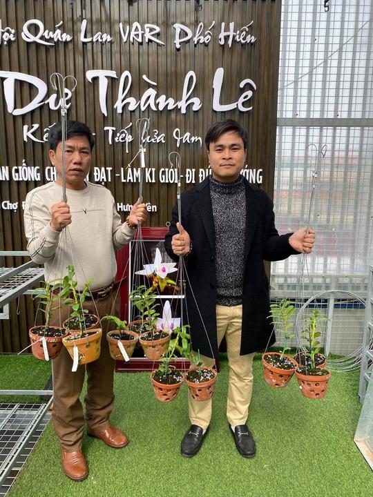 Chuyển hướng sang lan đột biến, Lê Thành Dư thành ông chủ vườn lan tiền tỉ - Ảnh 1.