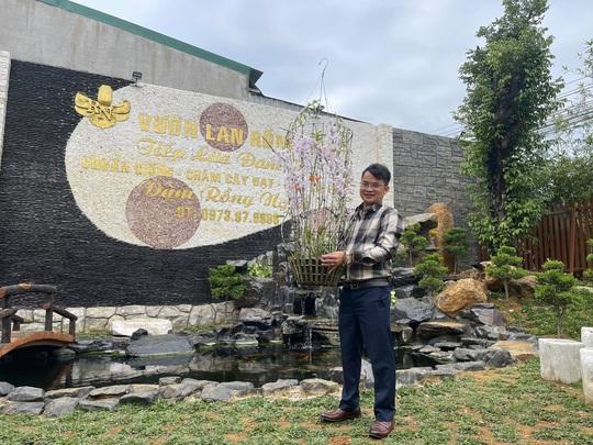 Ông chủ vườn lan Đàm Rồng Nghệ nói về lan đột biến tiền tỷ - Ảnh 1.