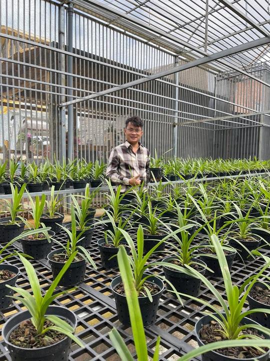 Ông chủ vườn lan Đàm Rồng Nghệ nói về lan đột biến tiền tỷ - Ảnh 2.