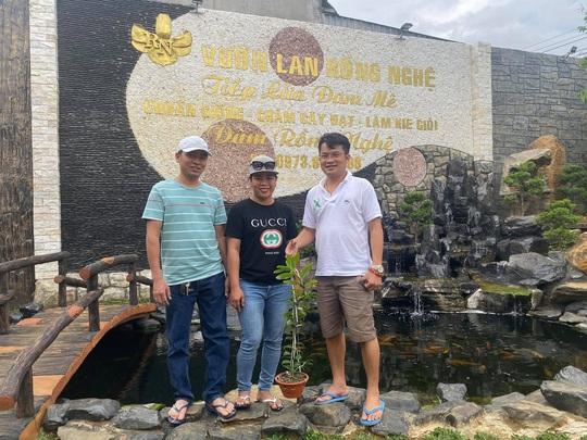 Ông chủ vườn lan Đàm Rồng Nghệ nói về lan đột biến tiền tỷ - Ảnh 4.